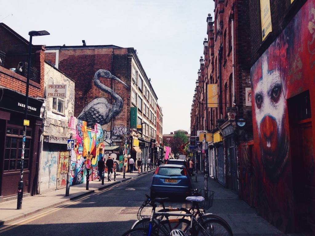 Δύο εναλλακτικές γειτονιές του ανατολικού Λονδίνου