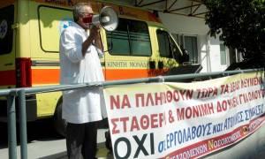Σε επικουρικό προσωπικό θα βασίζονται τα νοσοκομεία και στη μεταμνημονιακή εποχή
