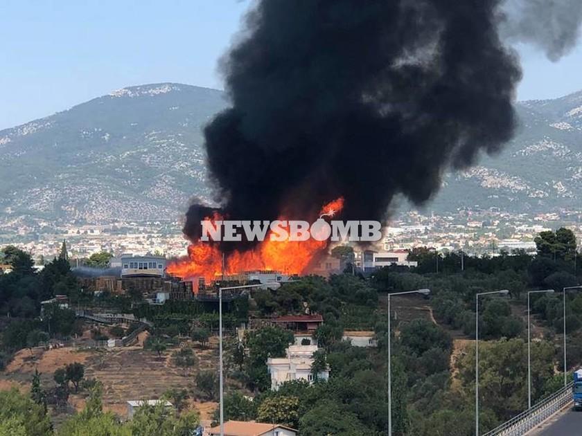 Έκτακτο – Συναγερμός ΤΩΡΑ για μεγάλη φωτιά κοντά στον Κηφισό – Αποκλειστικές εικόνες