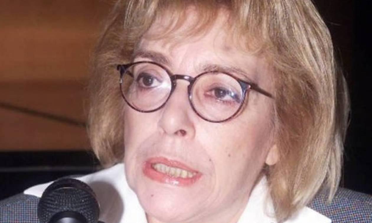 Θλίψη στον πολιτικό κόσμο: «Έφυγε» ξαφνικά η Ρένα Λαμπράκη
