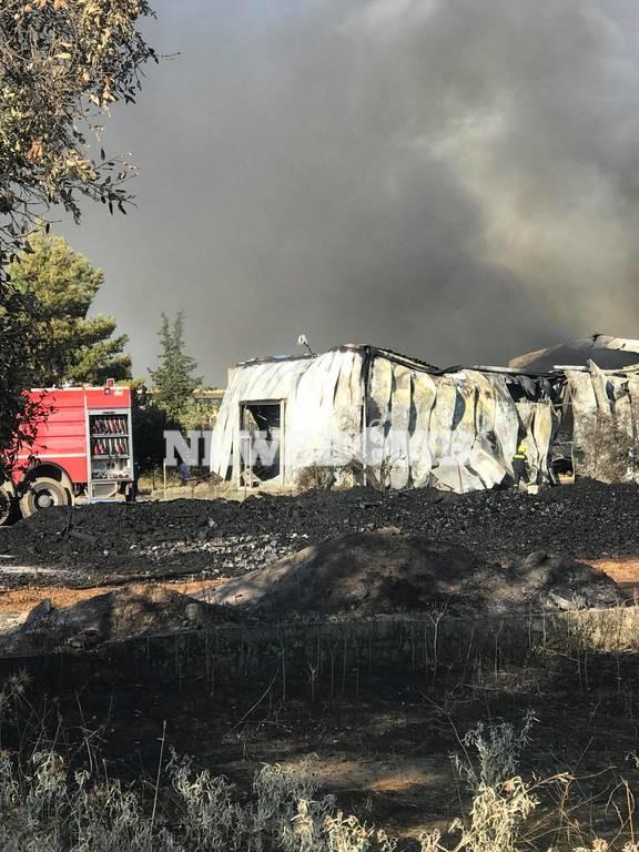 ΕΚΤΑΚΤΟ: Συναγερμός ΤΩΡΑ για νέα μεγάλη φωτιά στις Αχαρνές