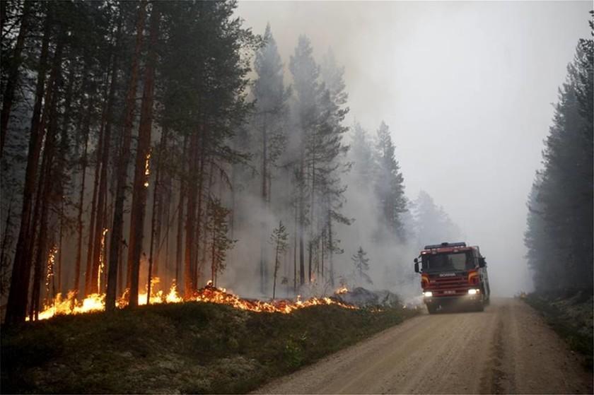 Μεγάλοες πυρκαγιές στη Σουηδία - Καύσωνας στην Φινλανδία
