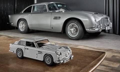 Τώρα μπορείς να φτιάξεις την Aston Martin του Τζέιμς Μποντ κομμάτι-κομμάτι! (pics)