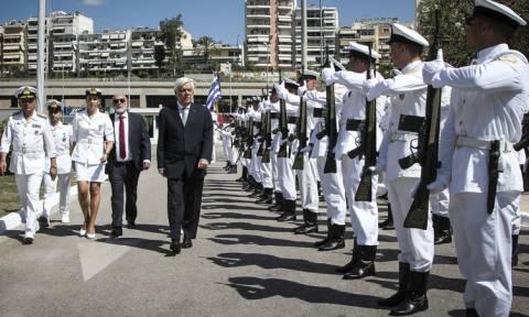 Ο Παυλόπουλος τίμησε το Λιμενικό Σώμα - Έγιναν τα αποκαλυπτήρια του Μνημείου Πεσόντων