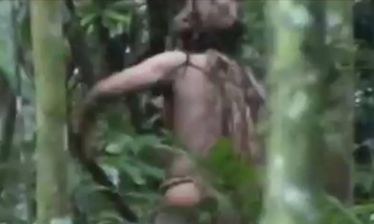 Ο τελευταίος επιζών φυλής του Αμαζονίου - Ζει μόνος στη ζούγκλα 22 χρόνια (vid)