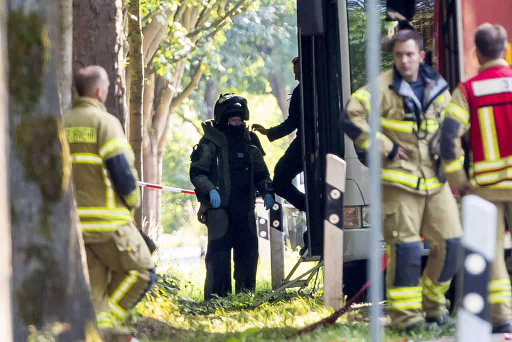 Γερμανία: Δεν ήταν τρομοκρατική η επίθεση στο Λίμπεκ - Ψάχνουν τα κίντρα του δράστη (pics)