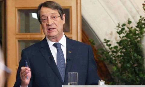 Αναστασιάδης: «Το Κυπριακό θα λυθεί όταν η Τουρκία σταματήσει να έλεγχει την Κύπρο προς όφελος της»