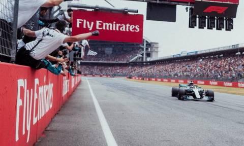 Formula 1: Θρίαμβος για Mercedes και δράμα για Φέτελ στο «χάος» του Χόκενχαϊμ (pics)