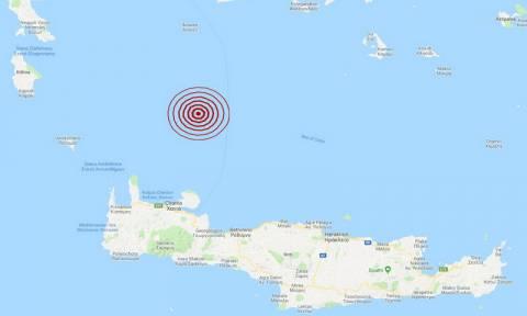 Σεισμός βόρεια των Χανίων (pics)