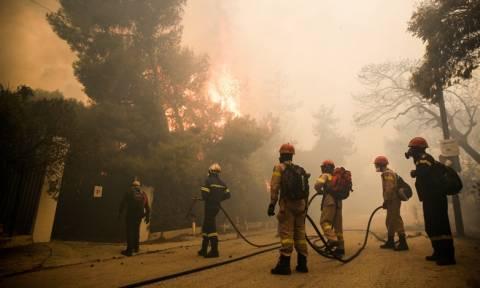 Φωτιά Κινέτα – Τάσος Αρνιακός στο Newsbomb.gr: Πότε θα κοπάσουν οι ισχυροί άνεμοι στην περιοχή