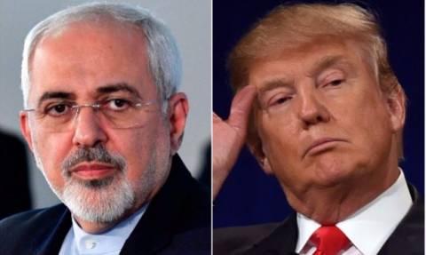 Στο «κόκκινο» η ένταση: «Μηνύματα» πολέμου εξαπολύουν Τραμπ και Ζαρίφ μέσω Twitter
