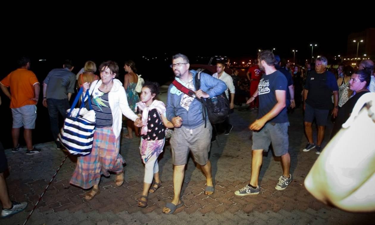 Φωτιά Ραφήνα: Σκηνές αρχαίας τραγωδίας με μητέρες και παιδιά