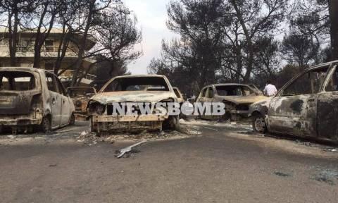 Φωτιά Μάτι: Έτσι βρήκαν τραγικό θάνατο 26 άνθρωποι στην ταβέρνα (vids)