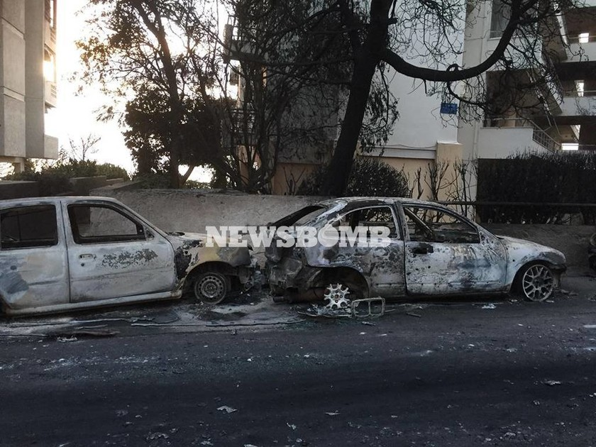 Πυροσβεστική: Στους 49 οι νεκροί από τις φονικές φωτιές στην Αττική