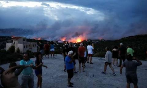 В Греции объявлен сбор средств и вещей для пострадавших от пожара