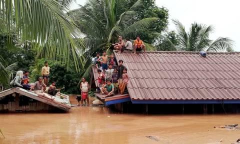 Λάος: Πολλοί νεκροί και εκατοντάδες αγνοούμενοι από κατάρρευση φράγματος