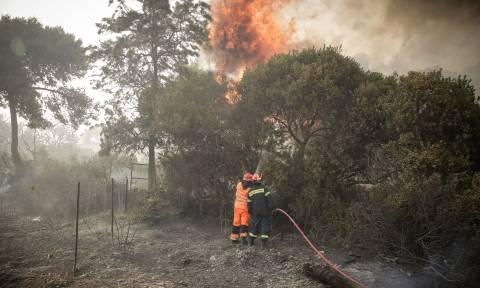 Φωτιά ΤΩΡΑ - Δήμαρχος Λουτρακίου: Τεράστιο το μέτωπο - Η φωτιά είναι πάνω από τους Αγίους Θεοδώρους