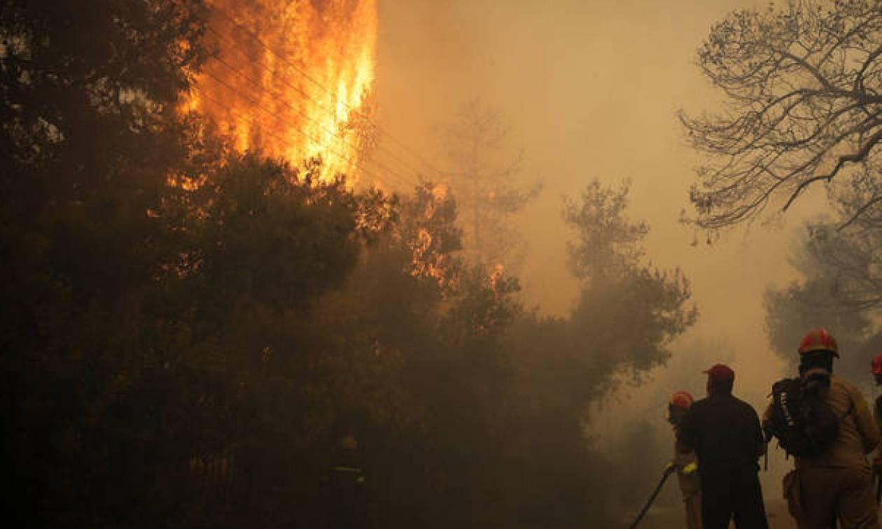 Φωτιά: Πάνω από 139 σπίτια καταστράφηκαν ολοσχερώς στην Κινέτα