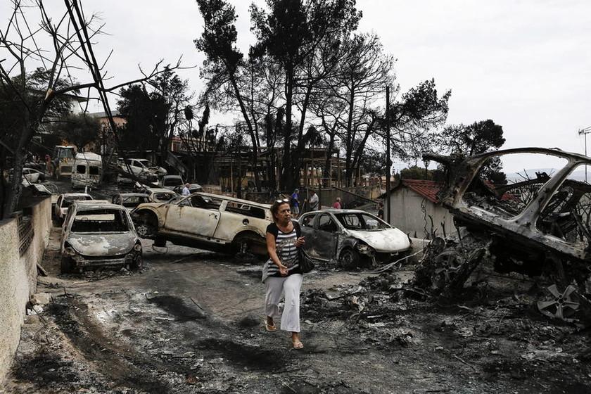 Φωτιά: Ειδικός λογαριασμός στην Τράπεζα της Ελλάδος για την αρωγή των πληγέντων από τις πυρκαγιές