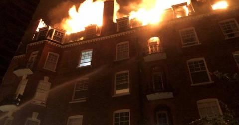 Αγγλία: Στις φλόγες πολυκατοικία στο βορειοδυτικό Λονδίνο (vid)