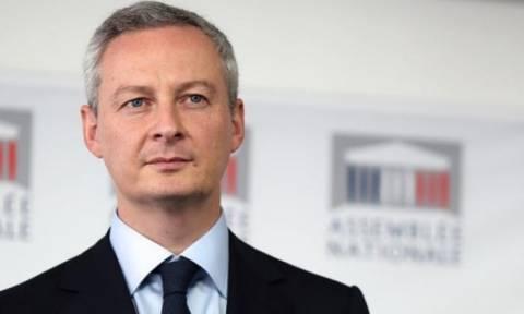 Στην Αθήνα τη Δευτέρα ο Γάλλος υπουργός Οικονομικών