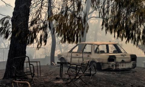 Πυρκαγιά Αττική: Μη κατοικήσιμα 1.218 σπίτια στις πληγείσες περιοχές