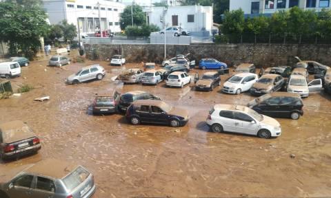 Πλημμύρες Μαρούσι: Άμεσα στην «πρώτη γραμμή» ο Καραμέρος - «Προτεραιότητά μας οι ανθρώπινες ζωές»