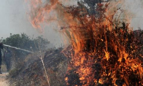 Συναγερμός: Δύο φωτιές στο Λαύριο