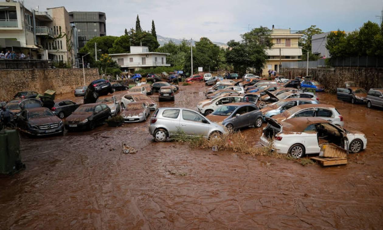 ΚΕΔΕ: Η περιφέρεια Αττικής είναι αποκλειστικά υπεύθυνη για τις πλημμύρες στο Μαρούσι