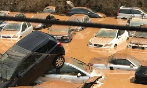 «Βροχή» κλήσεων στην Πυροσβεστική για βοήθεια και αντλήσεις υδάτων (Vid)