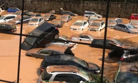 Περιφέρεια Αττικής: Τεκμηριωμένες οι ευθύνες του δήμου Αμαρουσίου για την πλημμύρα στο πάρκινγκ