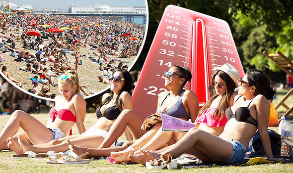 UK weather hottest Bank Holiday heatwave forecast 809369 copy copy
