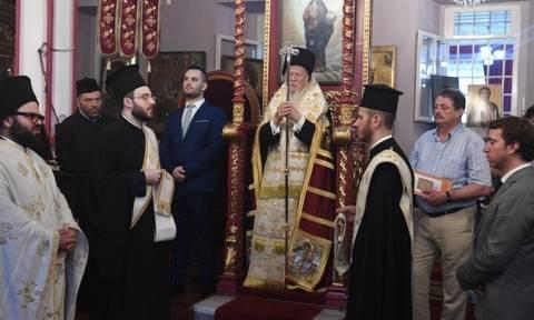 Φωτιά Αττική: Ο Οικουμενικός Πατριάρχης τέλεσε Τρισάγιο για τα θύματα της ανείπωτης τραγωδίας