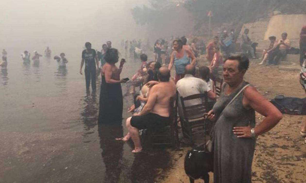 Φωτιά Μάτι - Φρίκη: Μητέρα θήλαζε το βρέφος της προσπαθώντας να το σώσει από την πυρκαγιά - Newsbomb - Ειδησεις - News