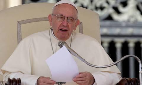 Φωτιά Μάτι: Μήνυμα συμπαράστασης του Πάπα Φραγκίσκου στον Προκόπη Παυλόπουλο