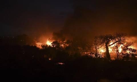 Φωτιά τώρα: Υπό μερικό έλεγχο τα δύο πύρινα μέτωπα στη Ζάκυνθο