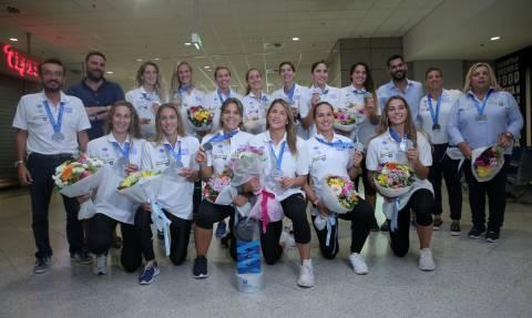 Ελλάδα: Επέστρεψαν οι «ασημένιες» Πρωταθλήτριες του πόλο (pics)
