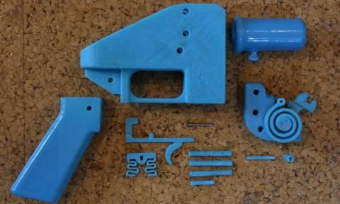 ΗΠΑ: Ανησυχία για απόφαση που επιτρέπει κατασκευή πλαστικών όπλων από εκτυπωτή 3D