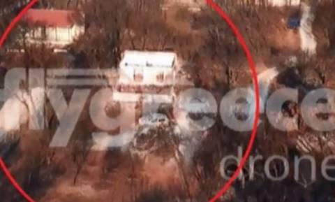 Φωτιά Μάτι - Νέα πλάνα: Έτσι εγκλωβίστηκαν τα 26 άτομα στο οικόπεδο - Λίγα μέτρα από τη σωτηρία τους