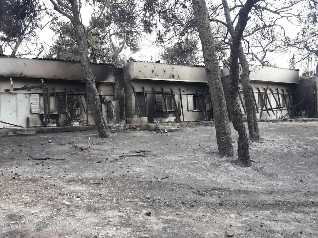 Φωτιά Μάτι: Στις 9 Αυγούστου θα επαναλειτουργήσουν οι στρατιωτικές κατασκηνώσεις τους Αγίου Ανδρέα