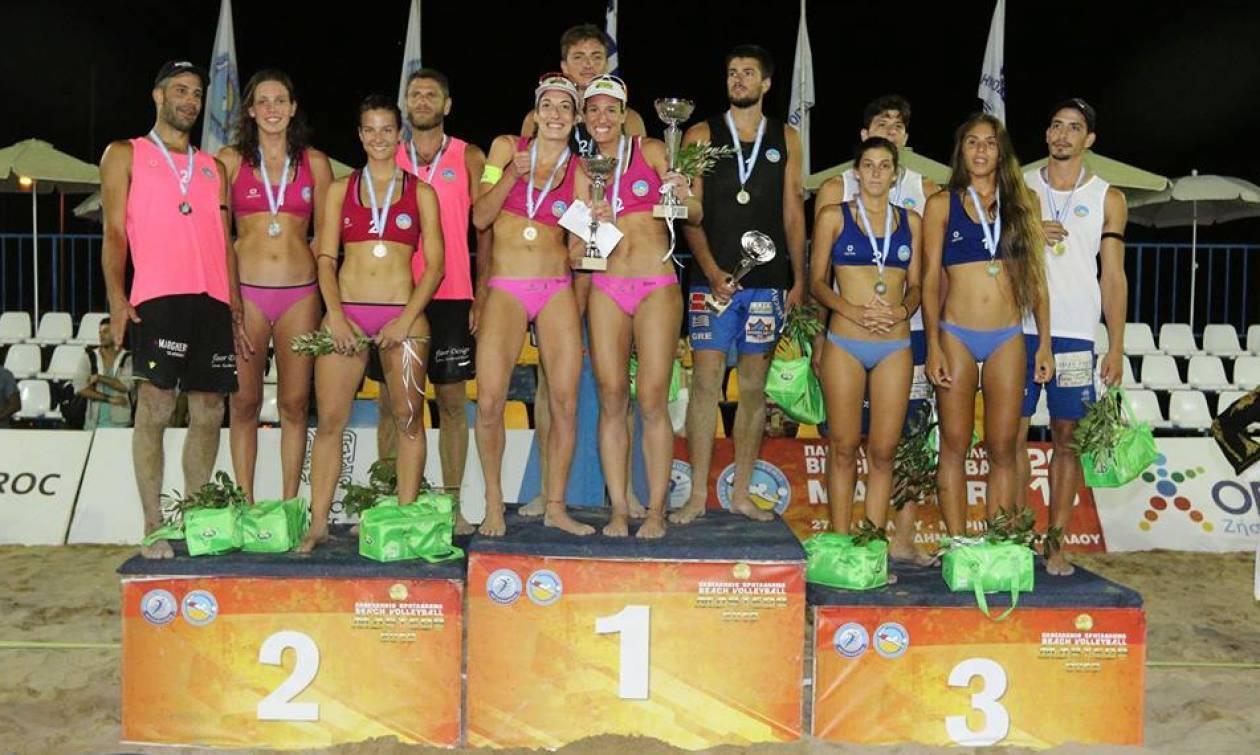 Ρεκόρ συμμετοχών στο Πανελλήνιο Πρωτάθλημα Beach Volleyball Masters με μεγάλο χορηγό τον ΟΠΑΠ