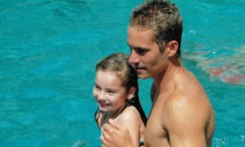 Η κόρη του Paul Walker έχει μεγαλώσει και του μοιάζει πολύ