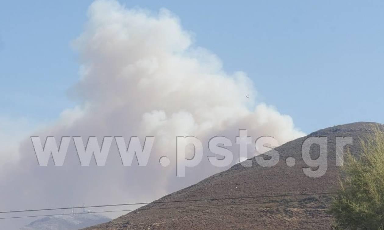 Φωτιά: Συναγερμός για μεγάλη πυρκαγιά στην Πάρο
