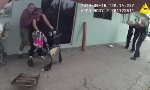 Βίντεο ΣΟΚ: Αστυνομικοί πυροβολούν και σκοτώνουν εγκληματία και την όμηρο που έσφαζε!