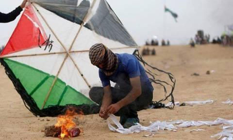 Χωρίς καύσιμα η Γάζα: Το Ισραήλ απαγόρευσε την τροφοδοσία λόγω... εμπρηστικών χαρταετών (Vid)