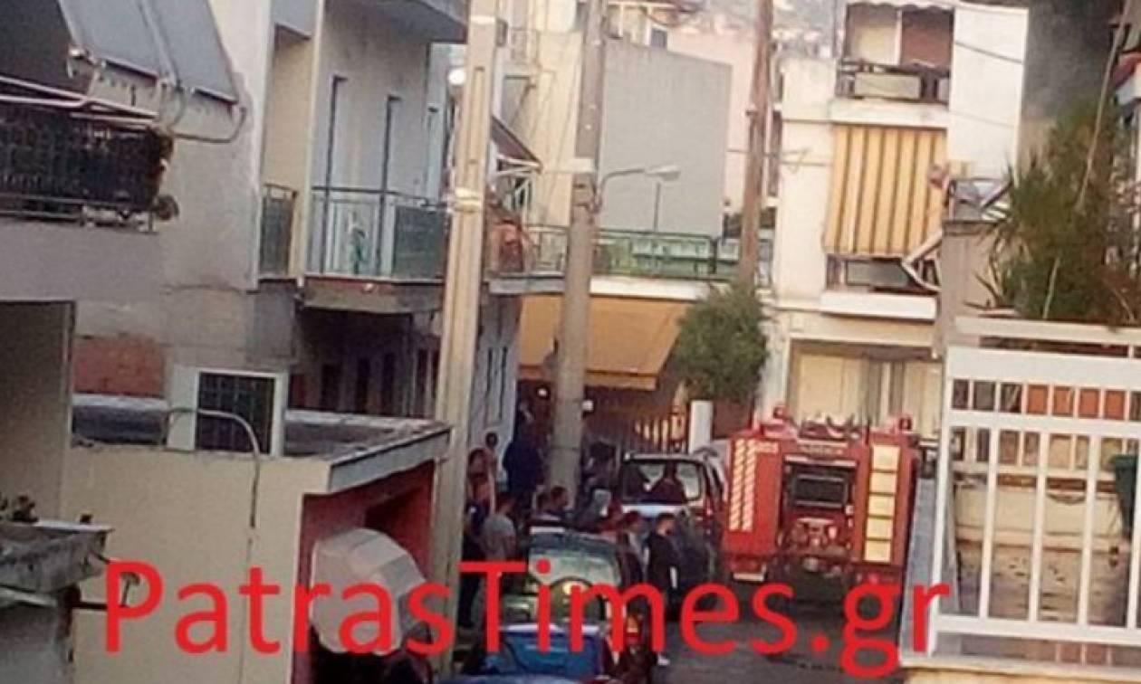 Πάτρα: Πυρκαγιά σε σοφίτα κατοικίας