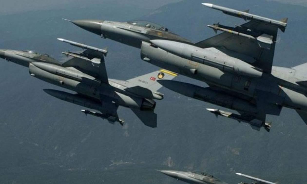 Χαμός και πάλι στο Αιγαίο: Παραβιάσεις από οπλισμένα τουρκικά μαχητικά