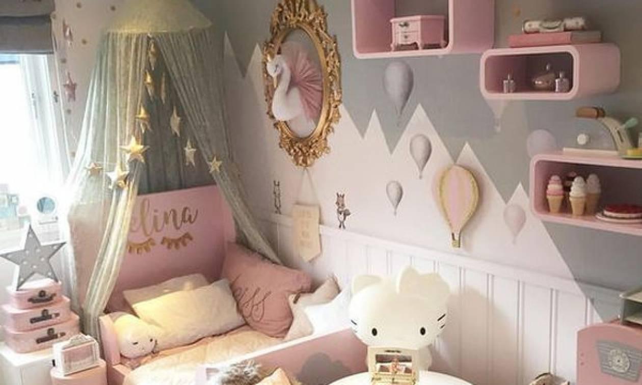 5b12d0a6581 12 ιδέες κοριτσίστικου δωματίου για να κάνετε την μικρή σας να νιώθει σαν  πριγκίπισσα (pics