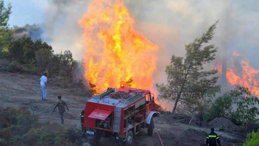 Υψηλός ο κίνδυνος πυρκαγιάς για αύριο Σάββατο (04/08) - Δείτε σε ποιες περιοχές (χάρτης)