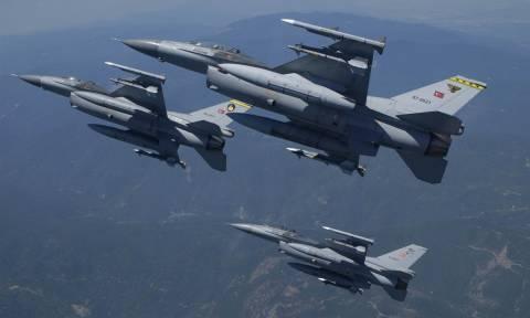 «Κυνηγητό» ξανά στο Αιγαίο: Οπλισμένα τουρκικά μαχητικά καταδιώχθηκαν από Έλληνες πιλότους